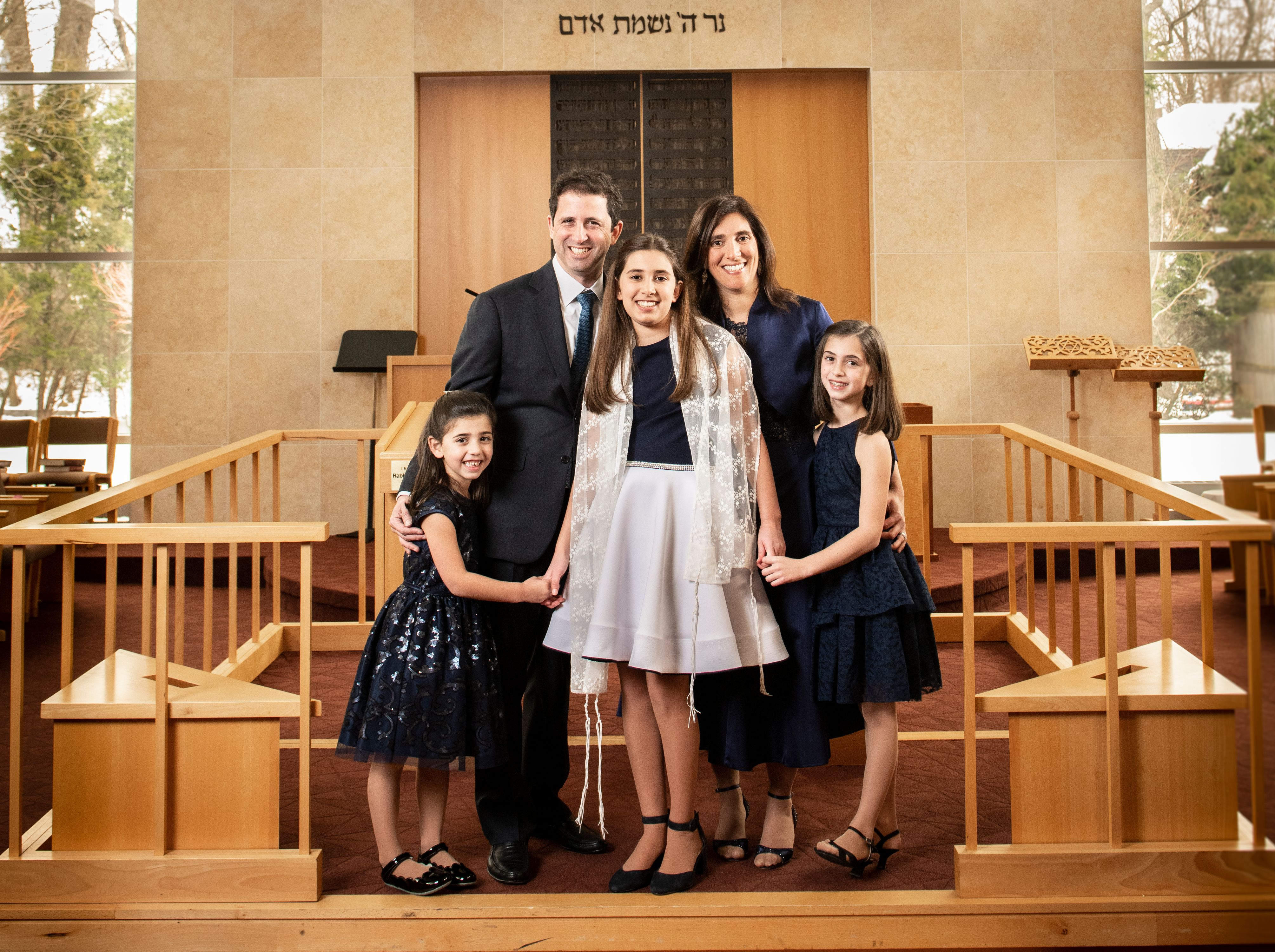 Family Bat Mitzvah Photography in Westchester, New York