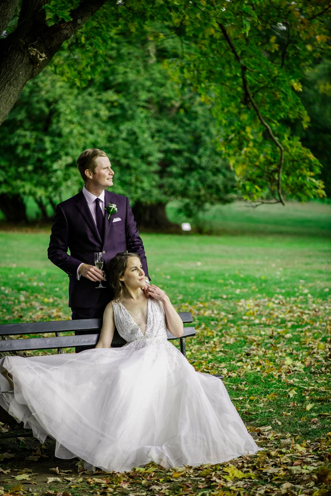 An Elegant Lyndhurst Wedding