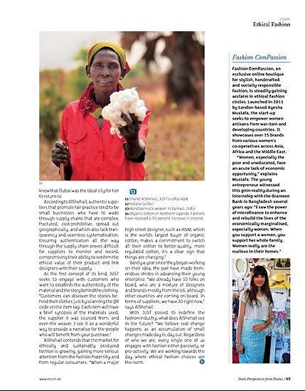 Uganda cotton farmer showing new crop