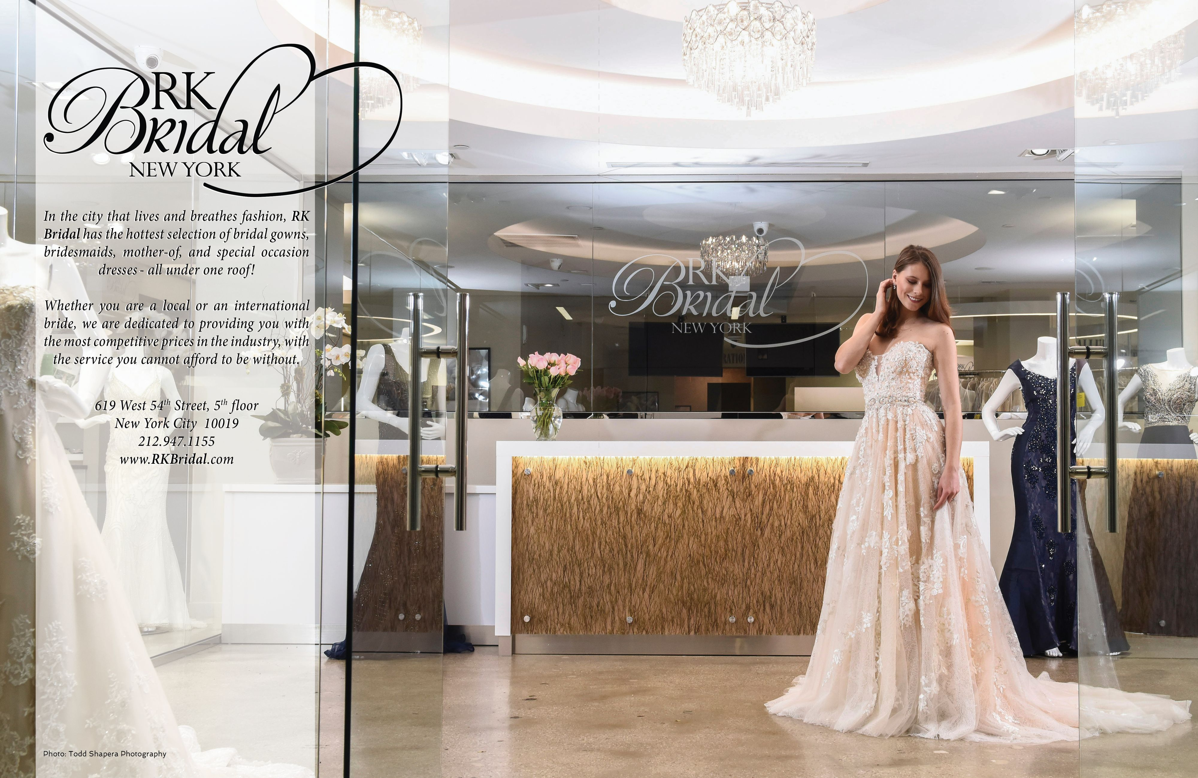 A Photoshoot for Sophisticated Weddings Magazine