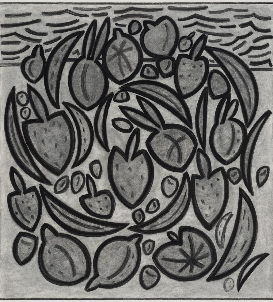 "FRUIT/SEA  ( B ) -    33"" x 29"""