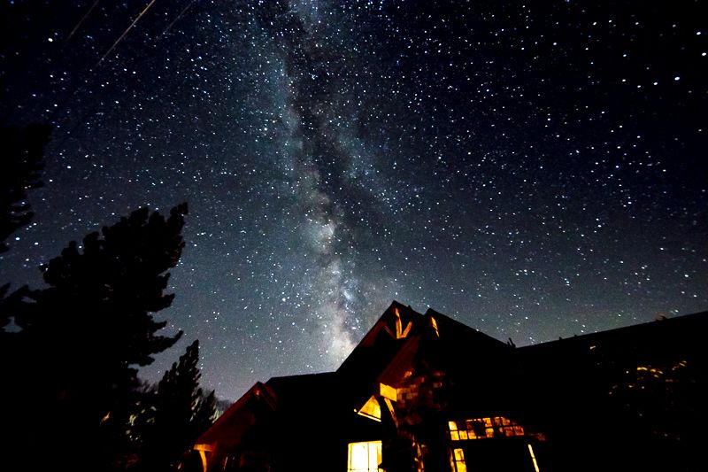 Milky Over Squaw Valley