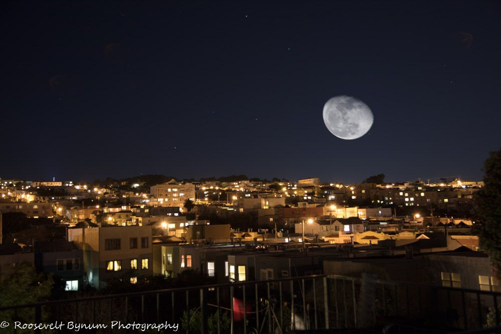 Moon Over the Outer Richmond