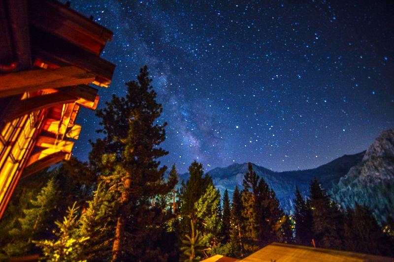 Milky Way Over Granite Peak