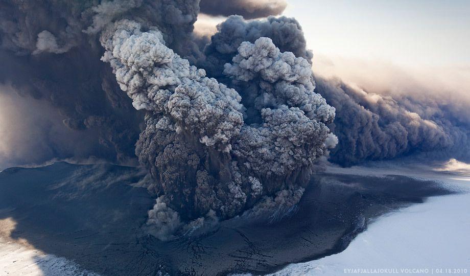 Eyjafjallajökull Volcano Eruption, Hvolsvelli, IcelandEICV0618