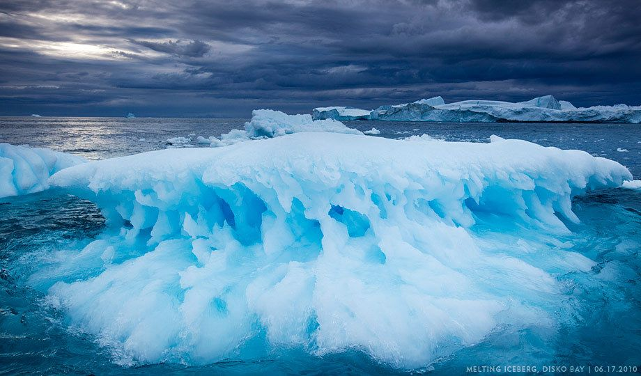EGNI2173Icebergs, Disko Bay, Greenland
