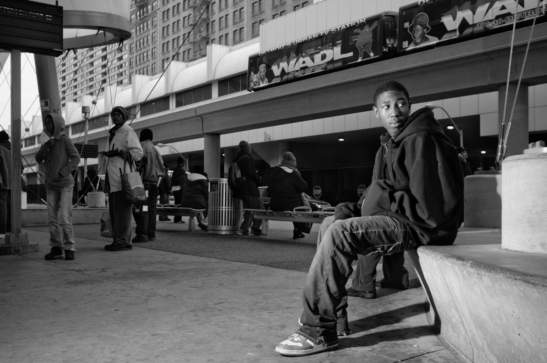 Demetrius, People in Transition Series, Detroit 2012