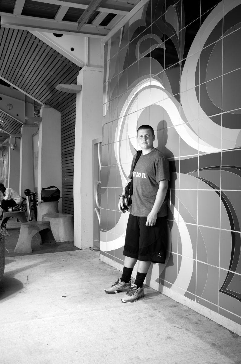 Steven, People in Transition Series, Bradenton 2013