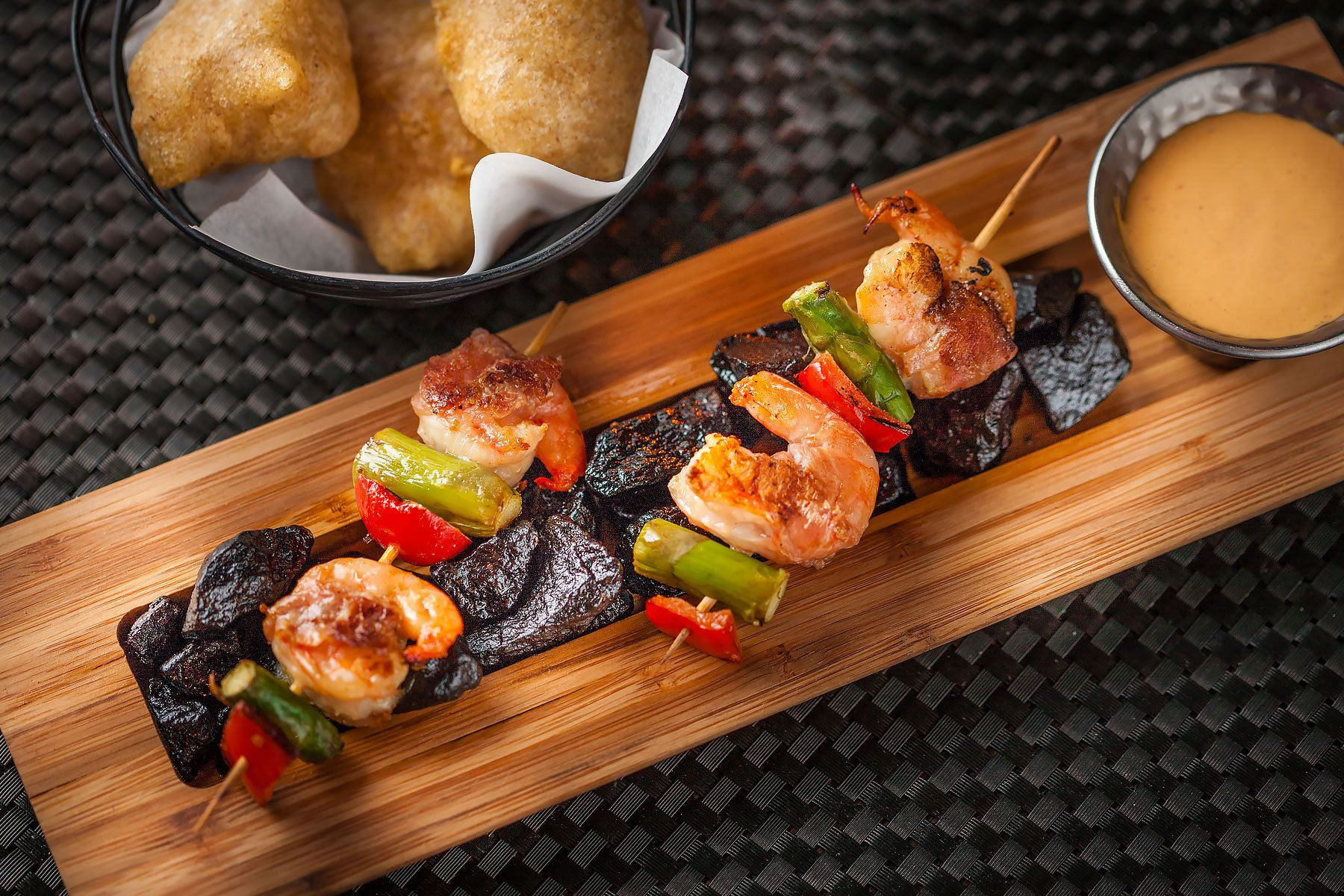 SHRIMP SKEWER - Ambar Restaurant, Washington DC