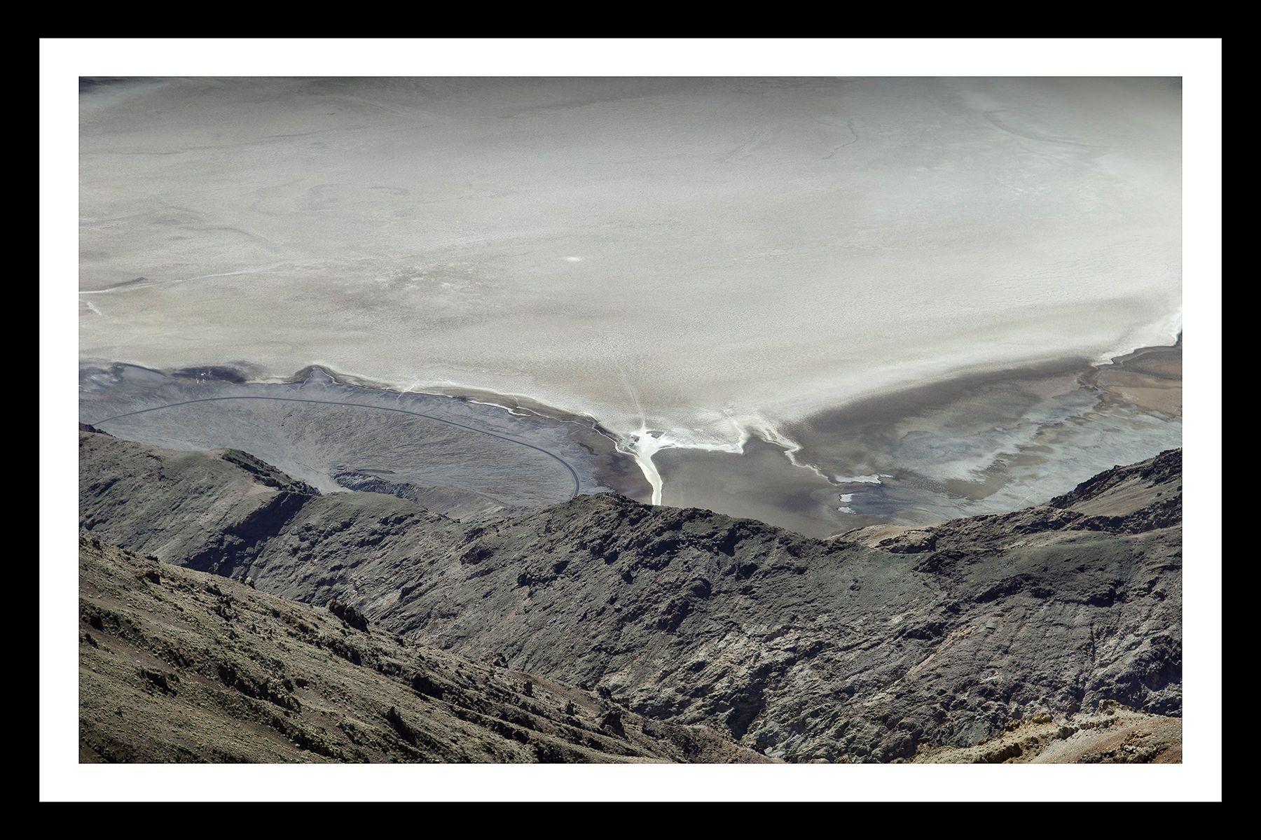 Dante's View of Bad Water Basin