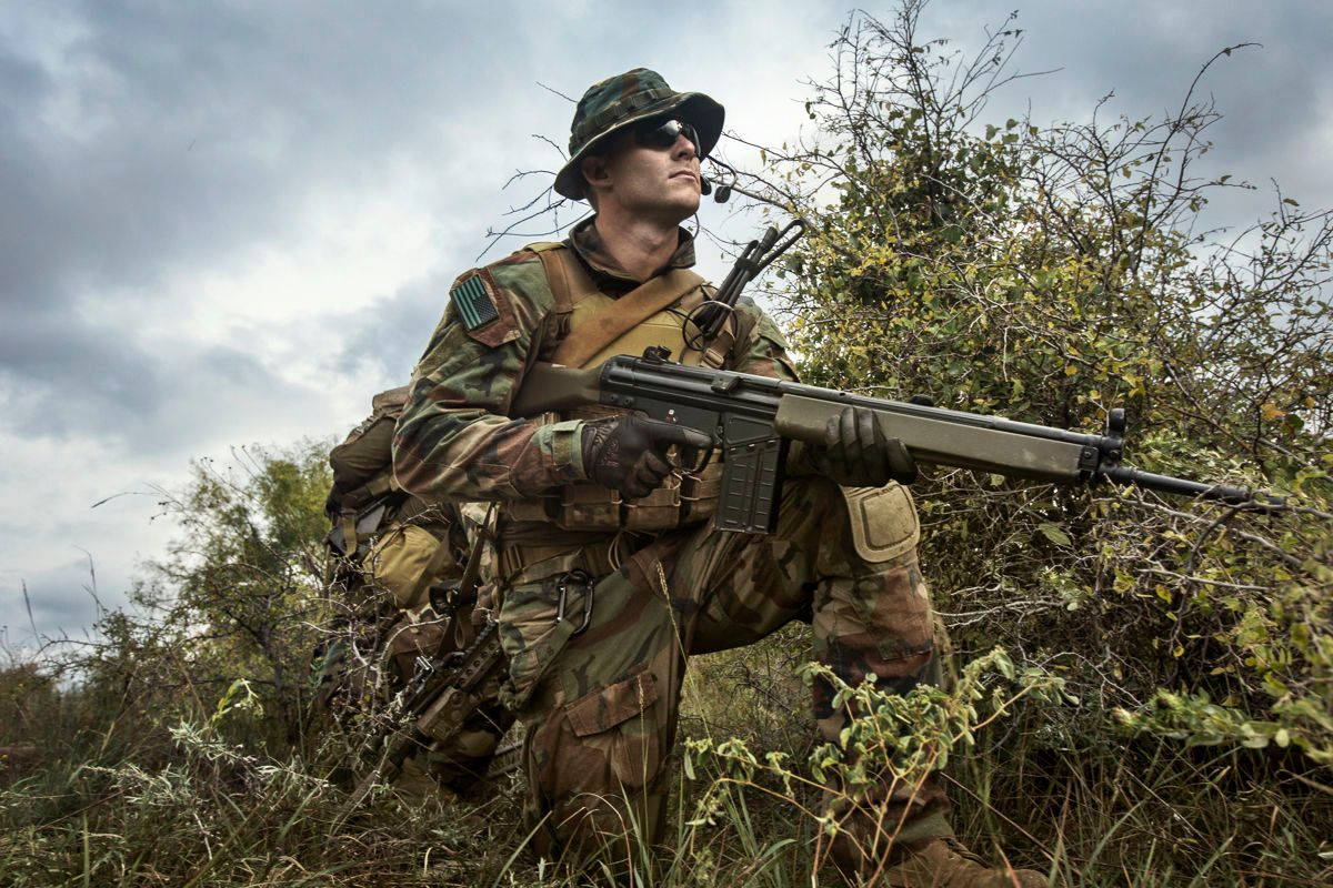 Enemy Weapons Training | Vance Jacobs Photographer