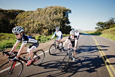 Group Ride on the Open Roads of Marin County | Vance Jacobs Photography