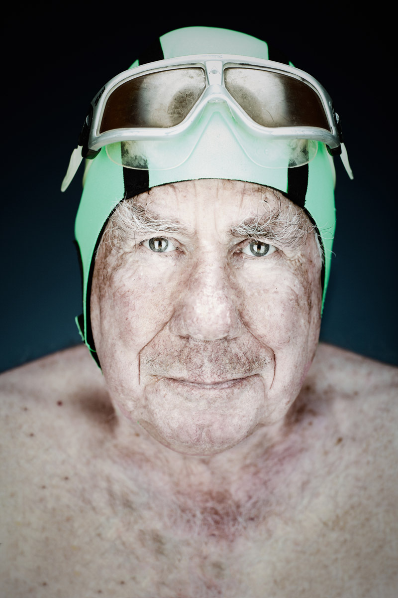 Lou Marcelli, 85 - Dolphin Club Member | Vance Jacobs Photographer