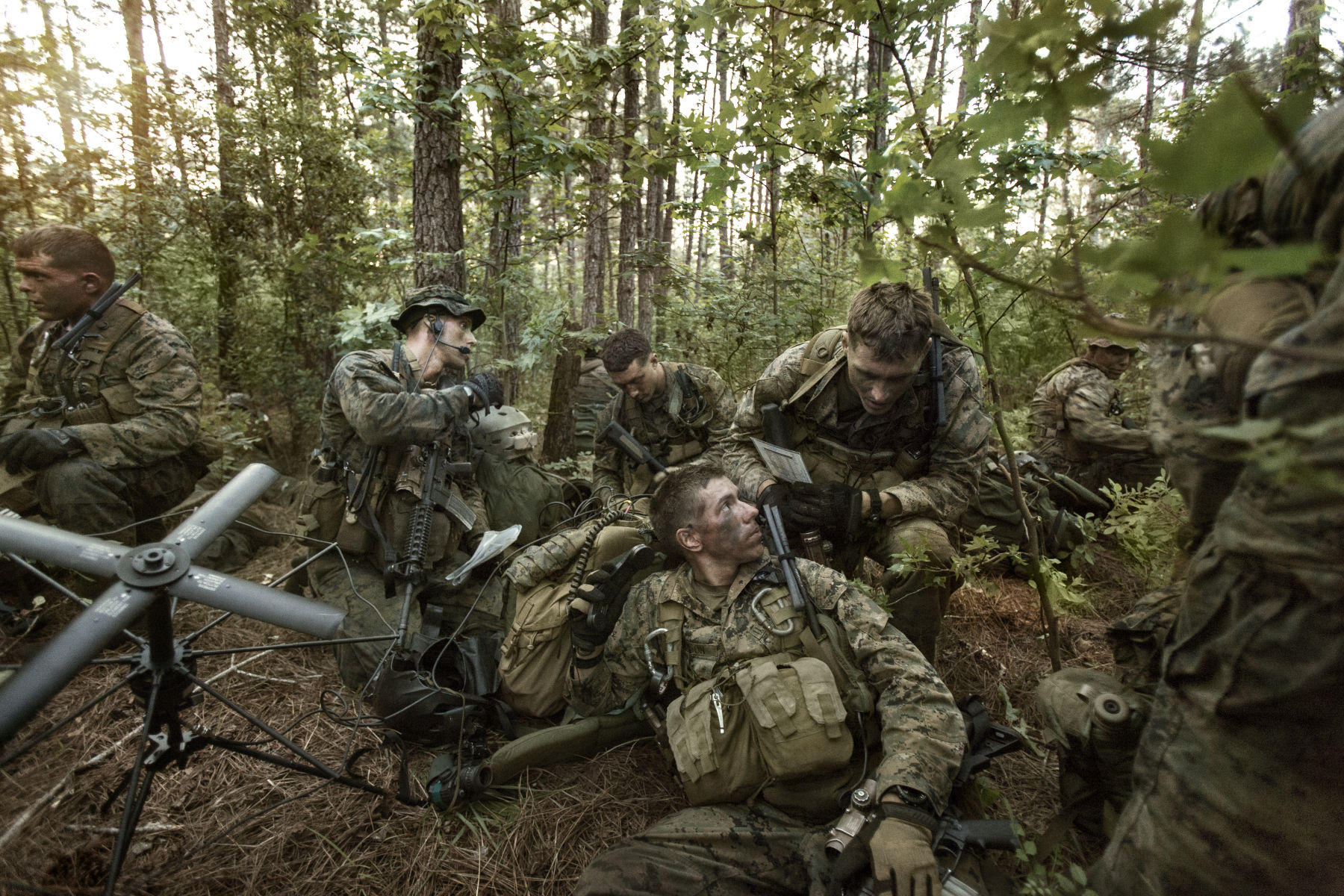 Portable Communications For The Military | Vance Jacobs Photography