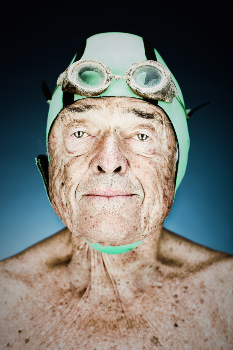 Walt Schneebeli, 87 - Dolphin Swim Club   Vance Jacobs Photographer
