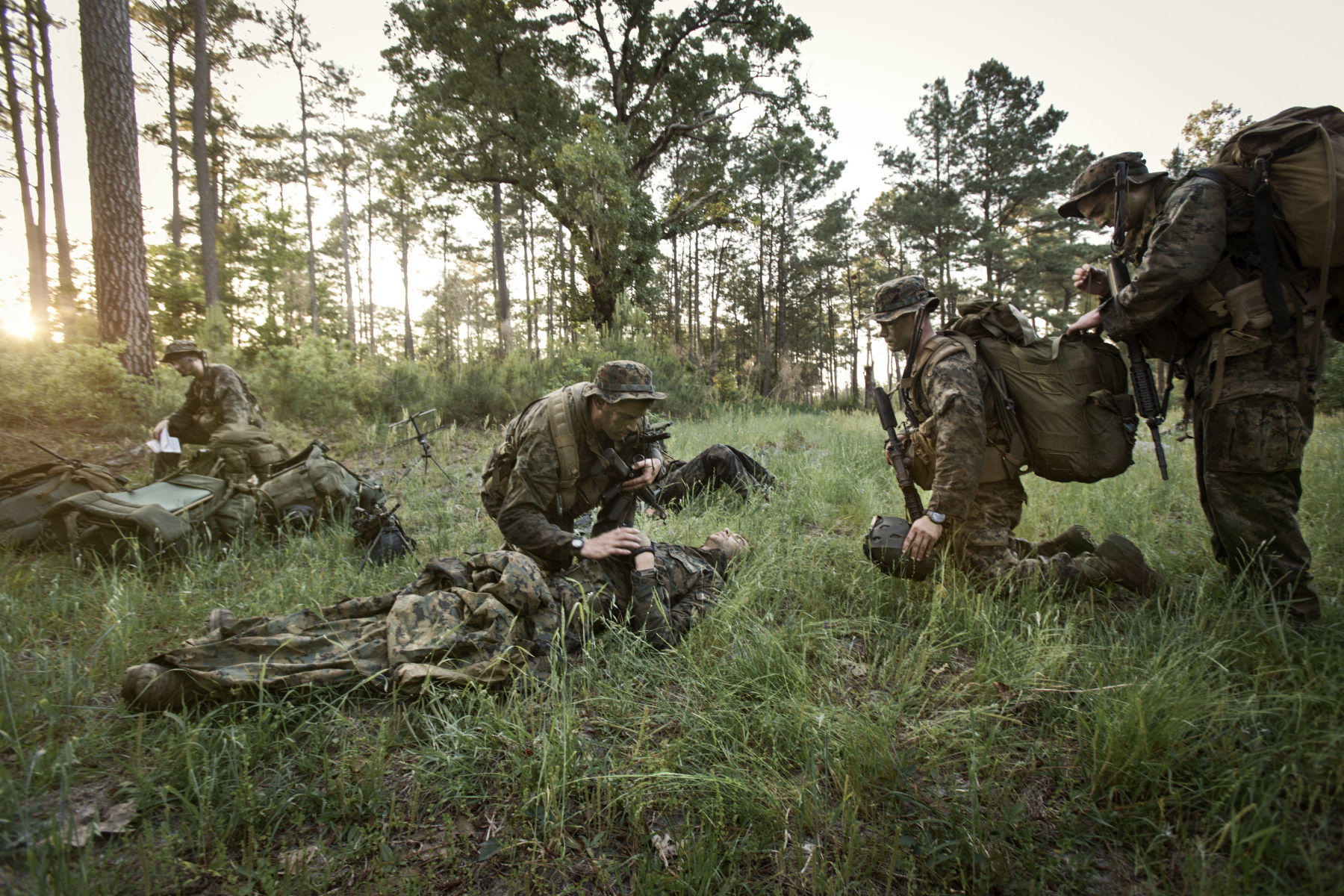 How To Attend to A Dead Marine | Vance Jacobs Photographer