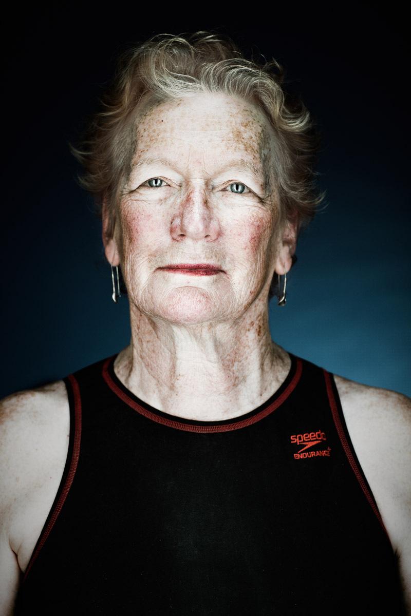 Janice Wood, 66 - Aquatic Park Dolphin Club   Vance Jacobs Photographer