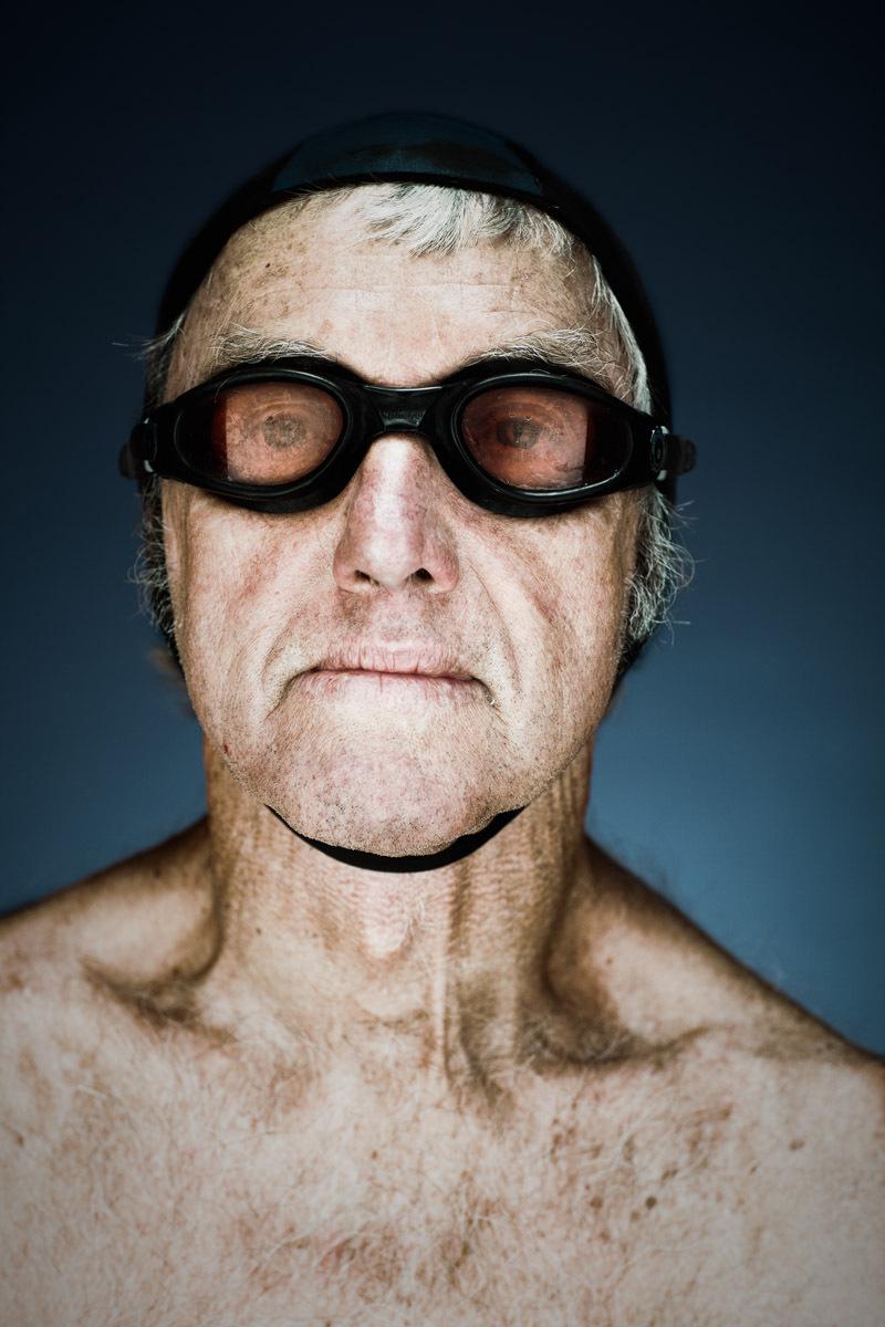 Bob Mackenzie, 76  - Dolphin Swim Club San Francisco   Vance Jacobs Photographer