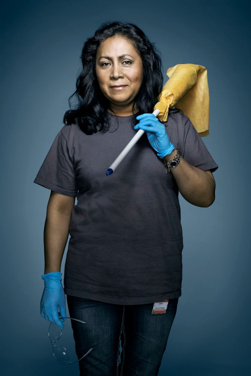 Silicon Valley Janitor | Vance Jacobs Photographer
