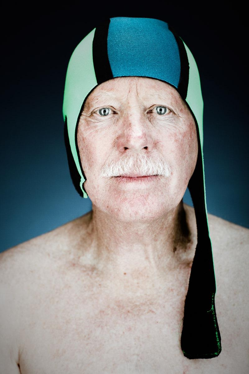 Noel Turner, 68 - Dolphin Club Member   Vance Jacobs Photographer