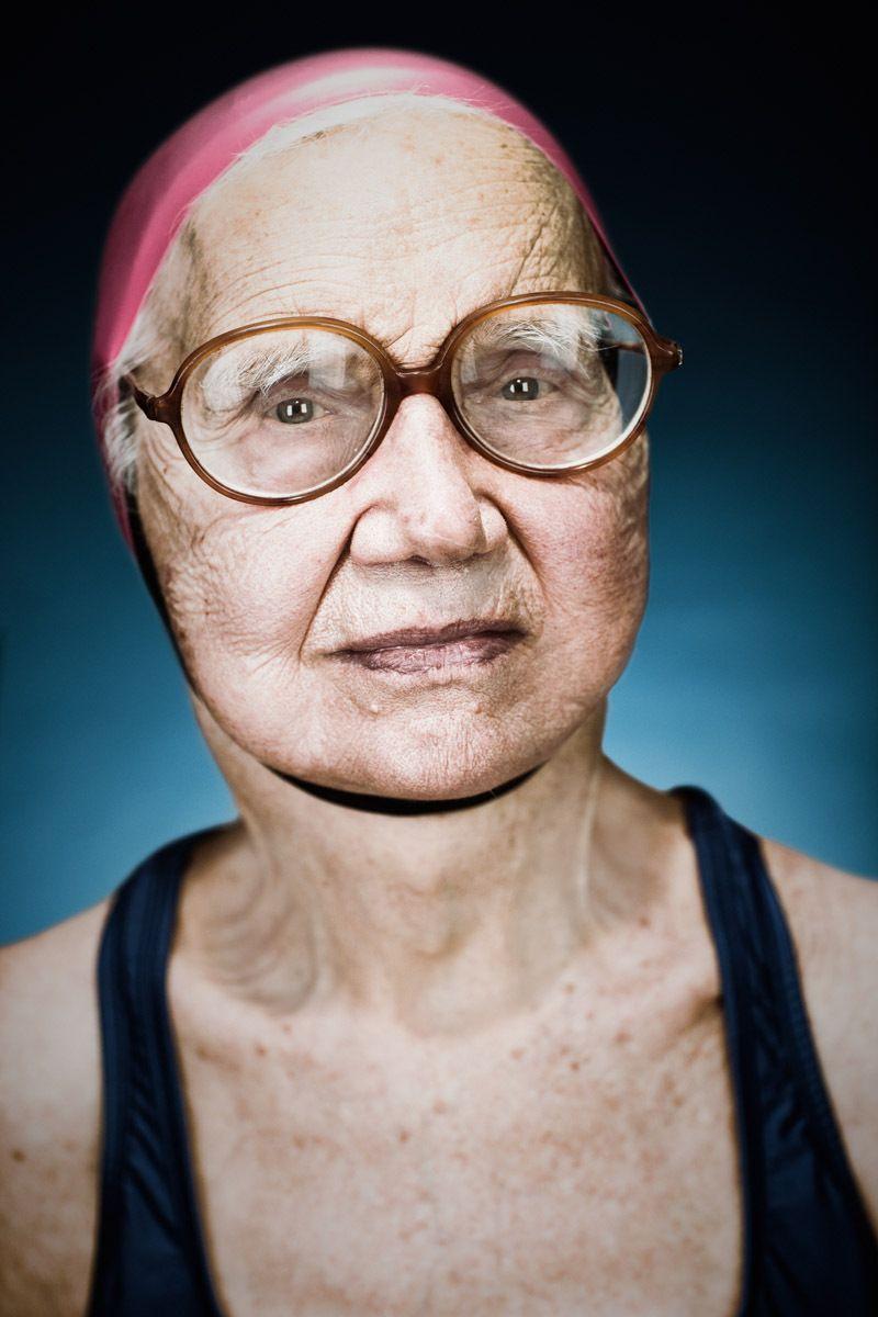 Mariauccia Larconi, 85 - Dolphin Club San Francisco Bay | Vance Jacobs Photographer