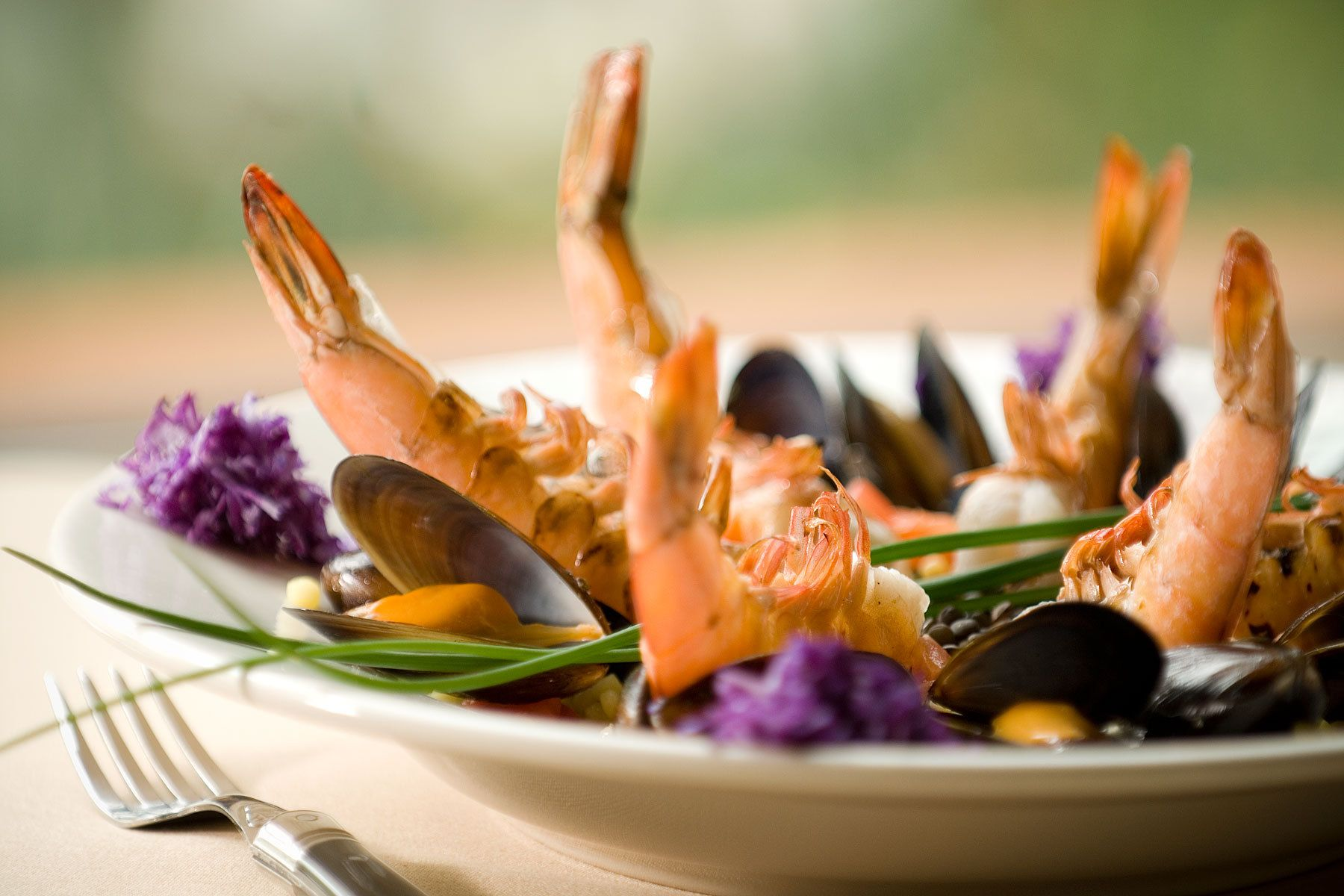 Sauteed Shrimp and Mussels