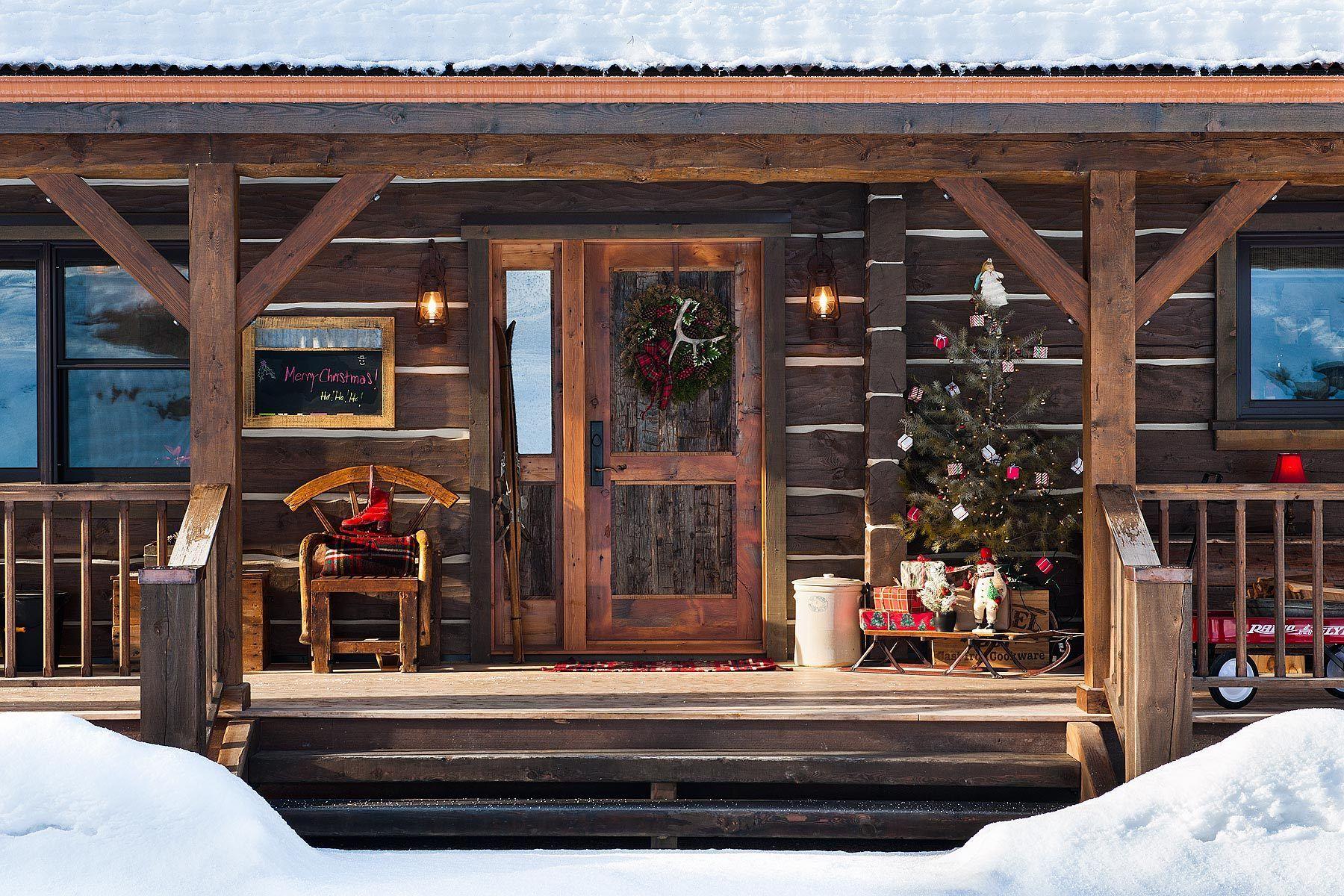 Winter Porch, Whitefish, MT