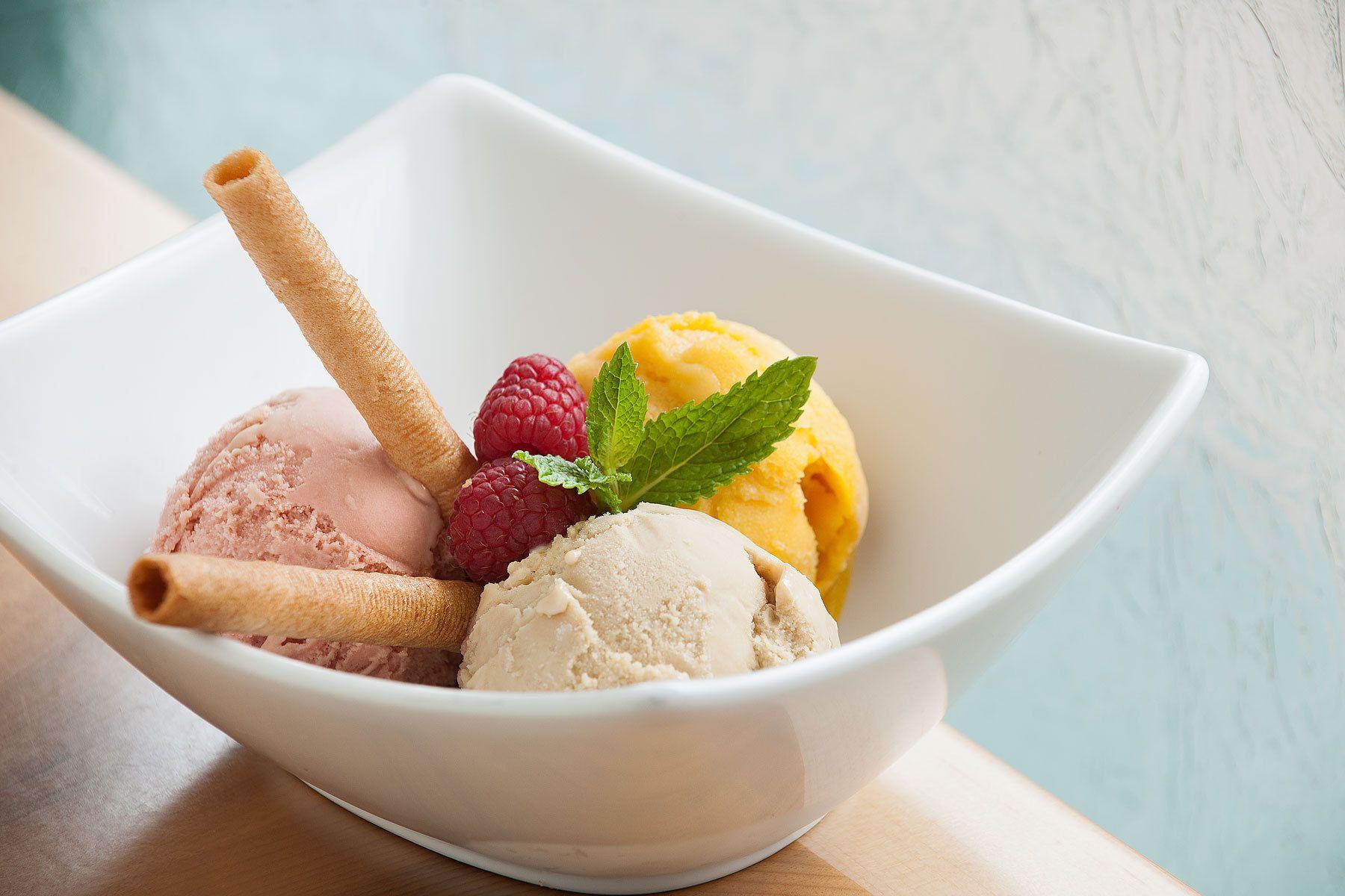Homemade Ice Cream Trifecta