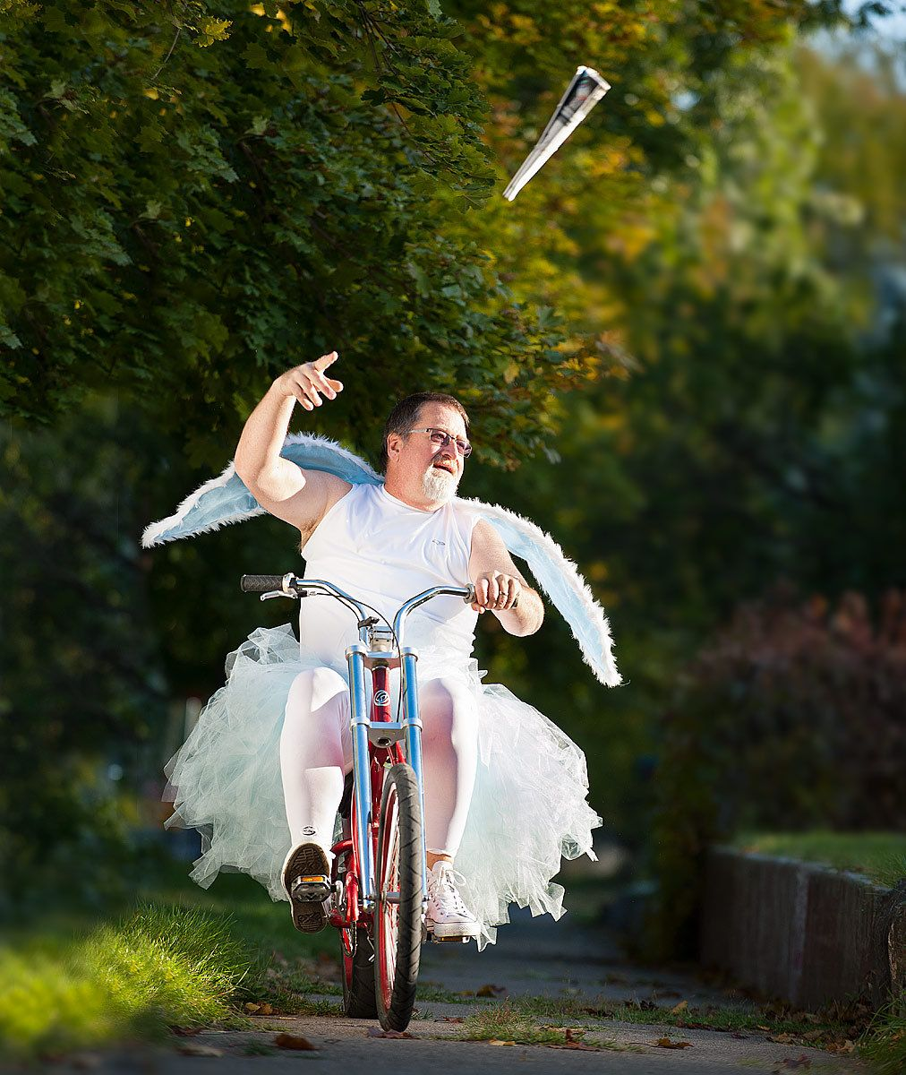 The Tooth Fairy's New Paper Route