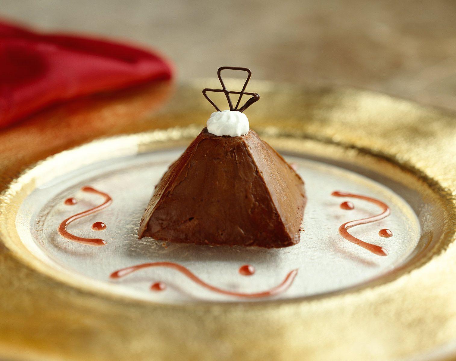 Chocolate Decadence Pyramid