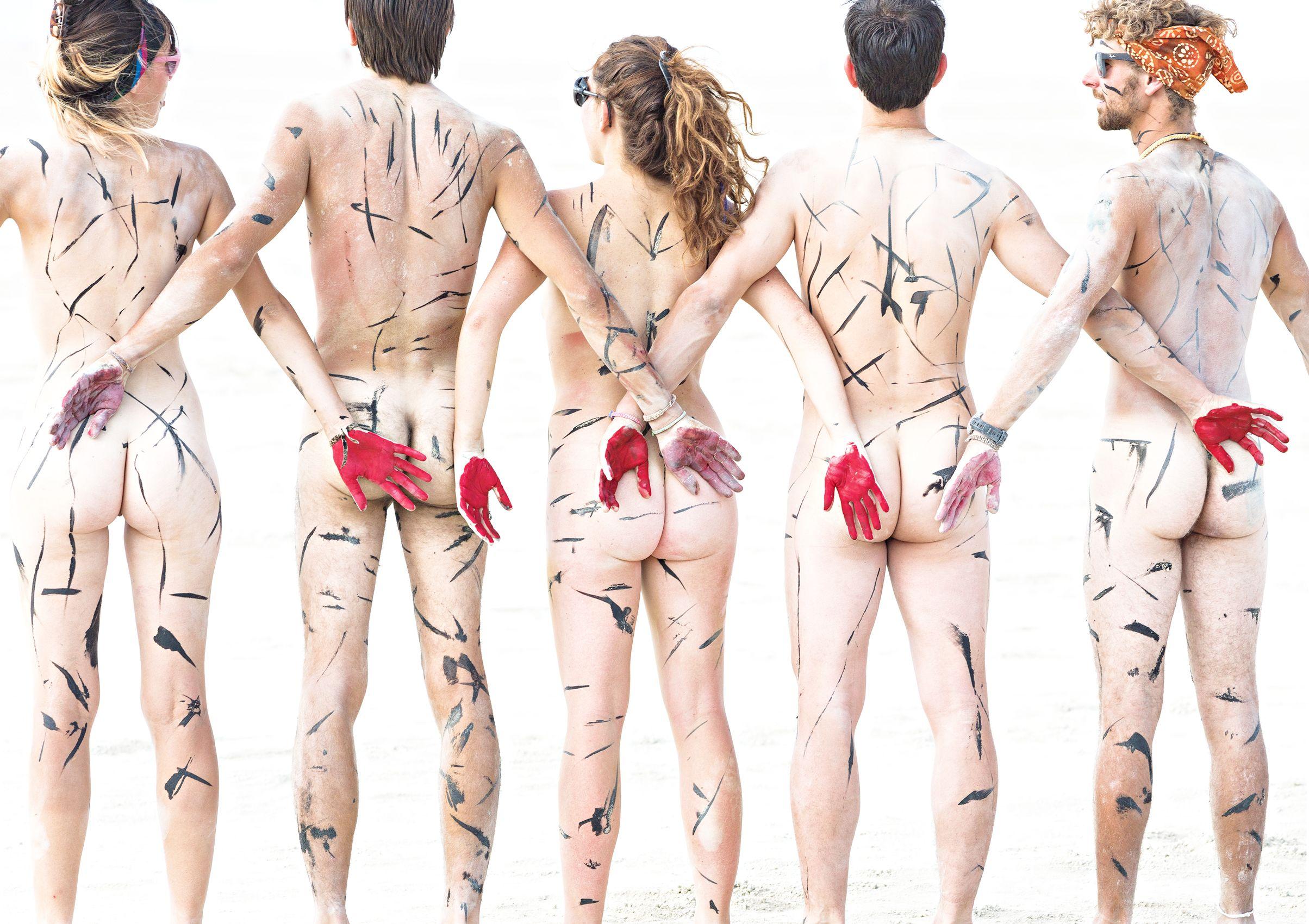 Five Nudes