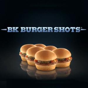 Burger King | Burger Shots