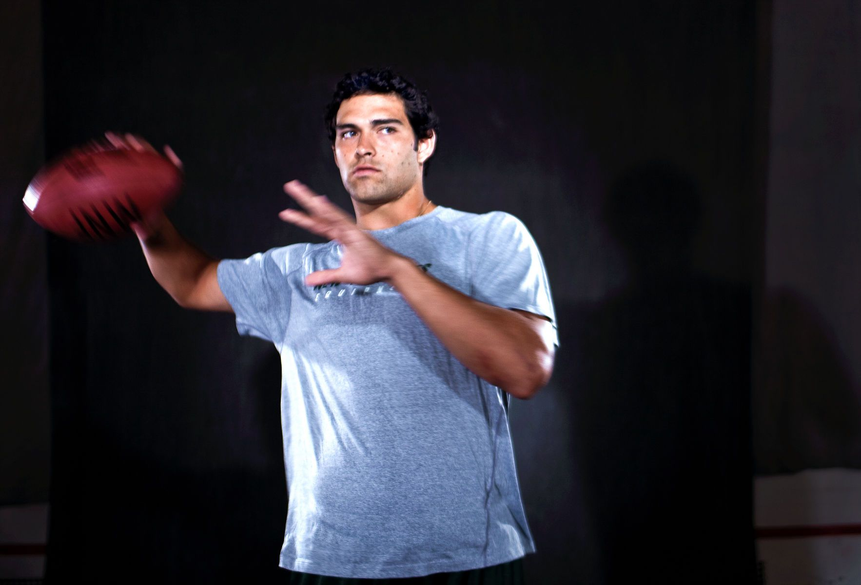 Mark Sanchez, quarterback for the New York Jets