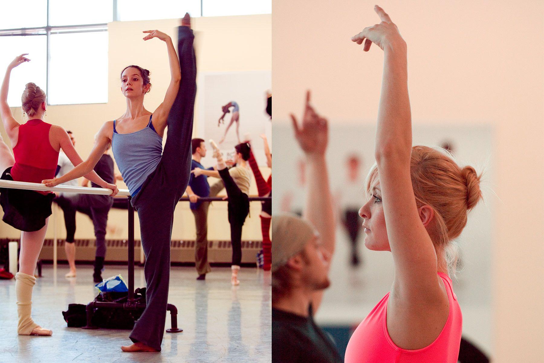 Ballet Rehearsal