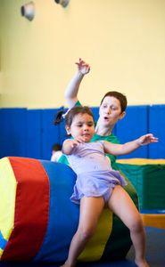 Asphalt Green Gymnastics Class