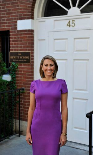 The Hewitt School's Tara Christie Kinsey, Ph.D. Head of School
