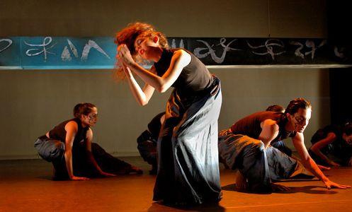 Dance Troupe Rehearsal