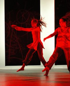 Dancers take flight