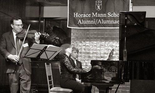 Violinist Gil Shaham ~ Alum of Horace Mann School