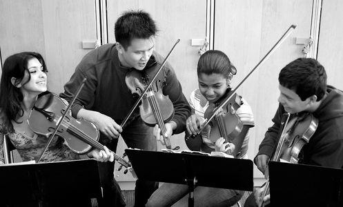 Victor Lin, Strings Teacher at The Calhoun School
