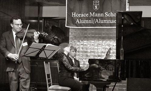 Gil Shaham, World Renowned Violinist - Alum of Horace Mann