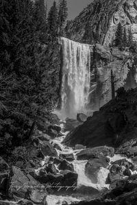 Vernal Falls BW.jpg