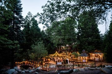 Forest Wedding Venue Hidden Creek in Lake Arrowhead