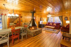 Storybook Cottage Living Room