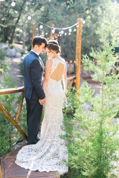 Couple at Hidden Creek