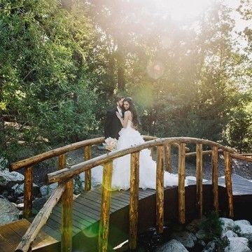Hidden Creek Bridge Pine Rose Cabins