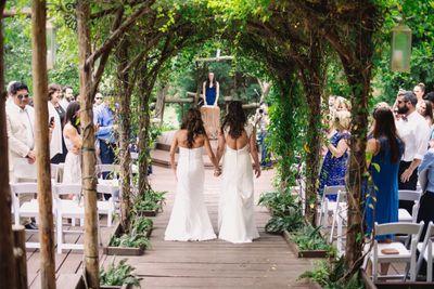 Pine Rose Wedding Angela & Christina