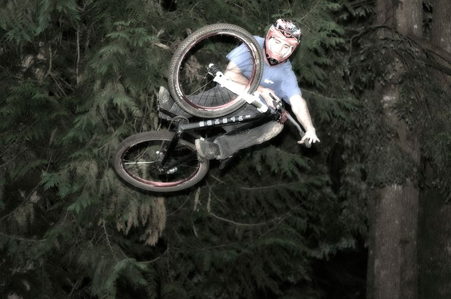BMX Biking at Windells - Welches, Oregon