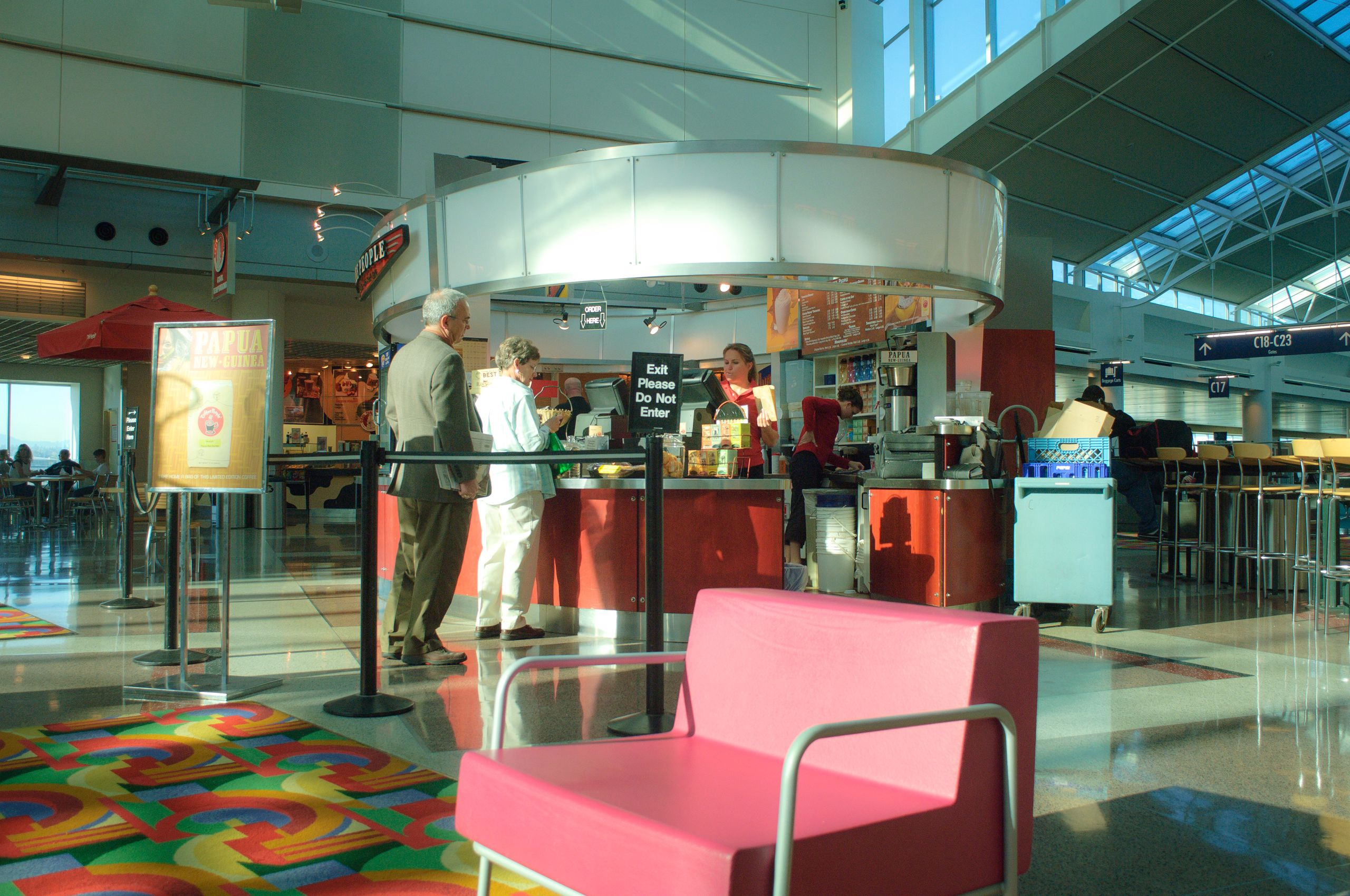 Concourse C at Portland International Airport