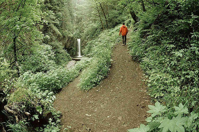 Hiking in the Columbia River Gorge, Oregon